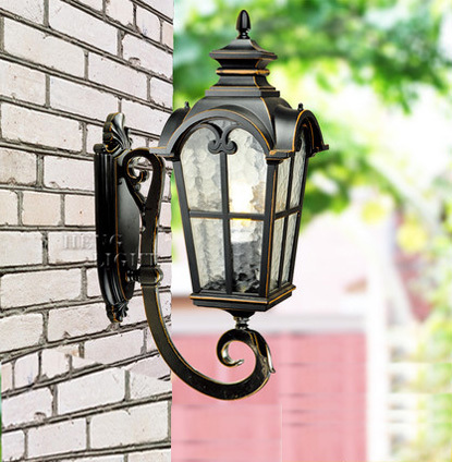Europe style high end upward waterproof wall lamp outdoor lamp garden lights vintage wall lamp ...
