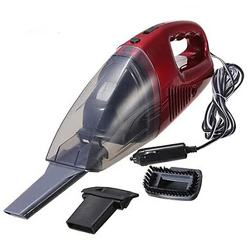 Auto Accessories Portable 50W 12V Car Vacuum Cleaner Handheld Mini Super Suction Wet And Dry Dual Use Vaccum Cleaner For Car Red(China (Mainland))