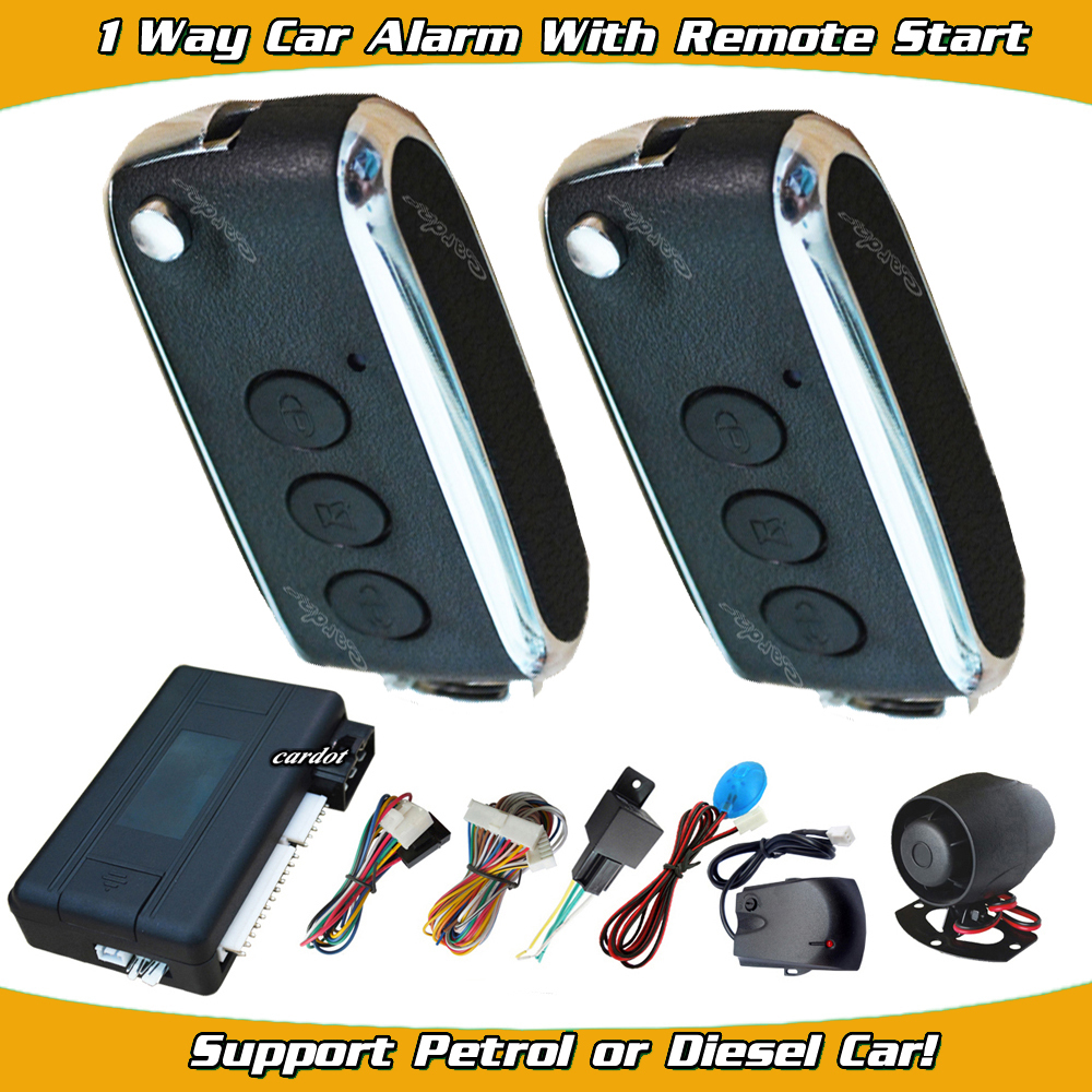 auto remote start car security alarm system auto window up output shock sensor and motion sensor alarm remote anti-hijacking(China (Mainland))