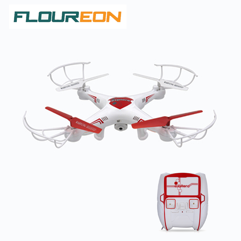 Floureon Dwi Dowellin X6C camera drone with camera 2.0MP HD rc helicopter 2.4GHz 6 Axis Gyro quadcopter remote control Toys dron(China (Mainland))