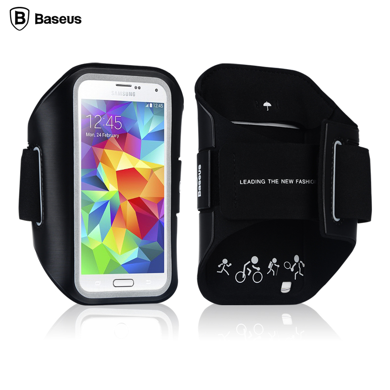 Brand Fashion Sports Armband Case for Samsung Galaxy S5 Pouch Stylish Outdoor Use for iPhone 5S Armband