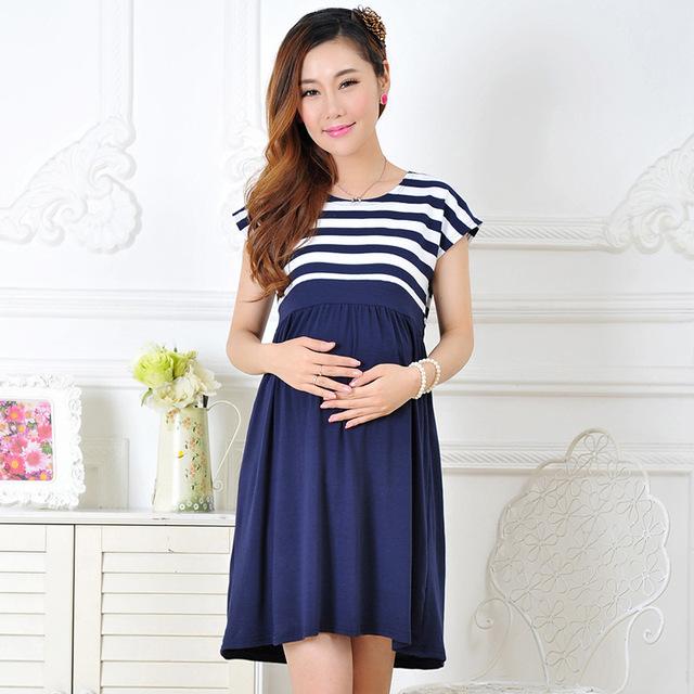 Новое поступление женщины длинные платья для беременных женщин , кормящих грудью ...