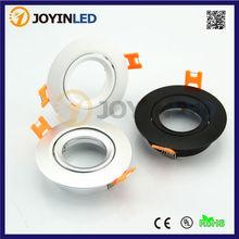10 stücke Schwarz/Während/Silber Farbe Aluminium Rahmen Montagerahmen Führte Halterung Halogen/led-strahler Rahmen(China (Mainland))