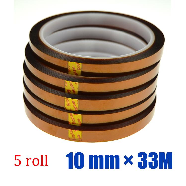 Free shipping 5 roll* 10 mm* 33M SUBLIMATION HEAT TRANSFER TAPE DIGITAL MUG PRESS(China (Mainland))
