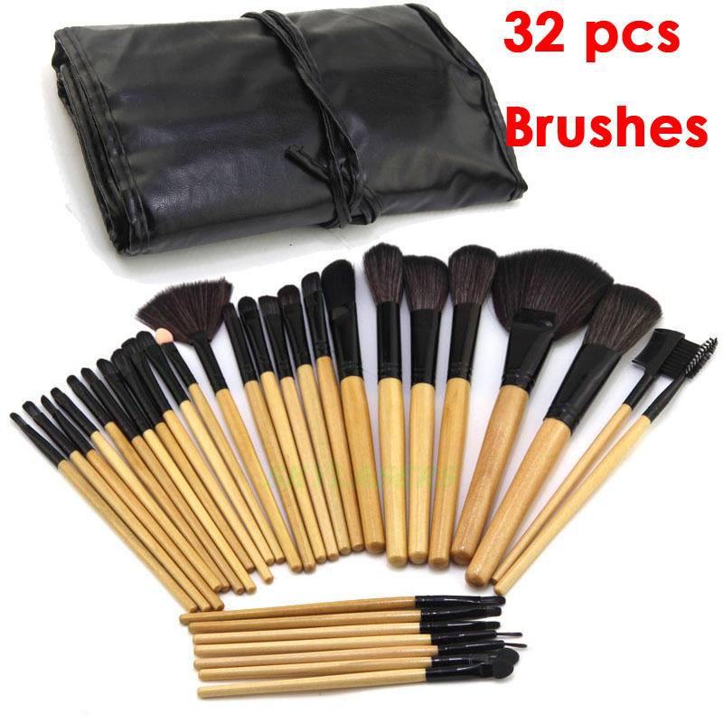 Promotion!Lowest Price! 32 Pcs 32pcs Cosmetic Facial Make Up Brush Kit Makeup Brushes Tools ...