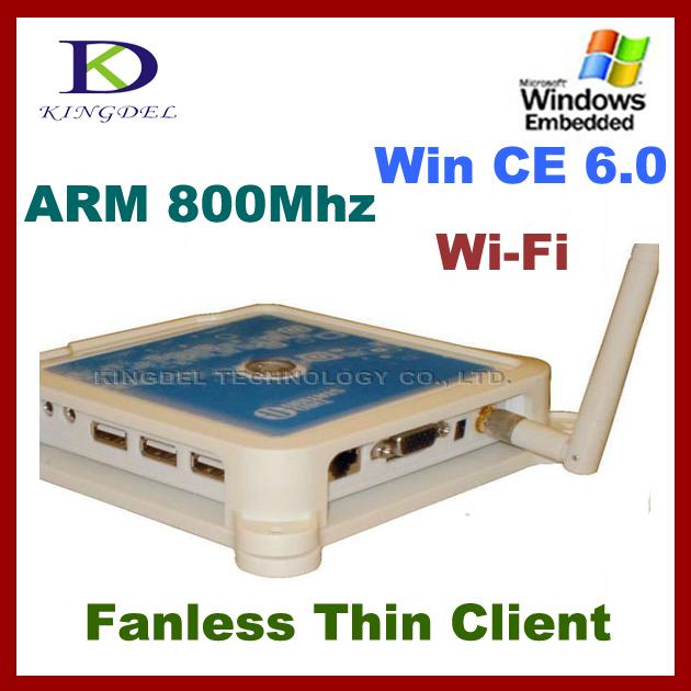 White Thin Client PC Station PC Share Terminal 32 Bit 800Mhz PC terminal N380 with WIFI USB 2.0 VGA zero thin client FCC&CE(Hong Kong)