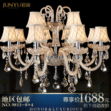 Fashion pendant light crystal lamp crystal pendant light living room lamps bedroom lamp lighting 9815 - 8 4