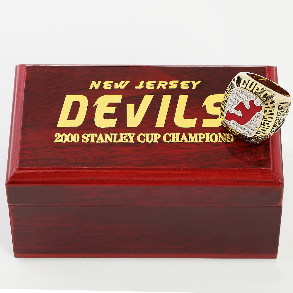 NHL New Jersey Devils 2000 Stanley Cup Championship ring FREE SHIPPING!Many sizes(China (Mainland))