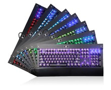 Backlit Chroma Dimmable RGB LED Mechanical Keyboard for dota 2 and Designe with 104 Buttons No Conflict Teclado Gamer Mecanico