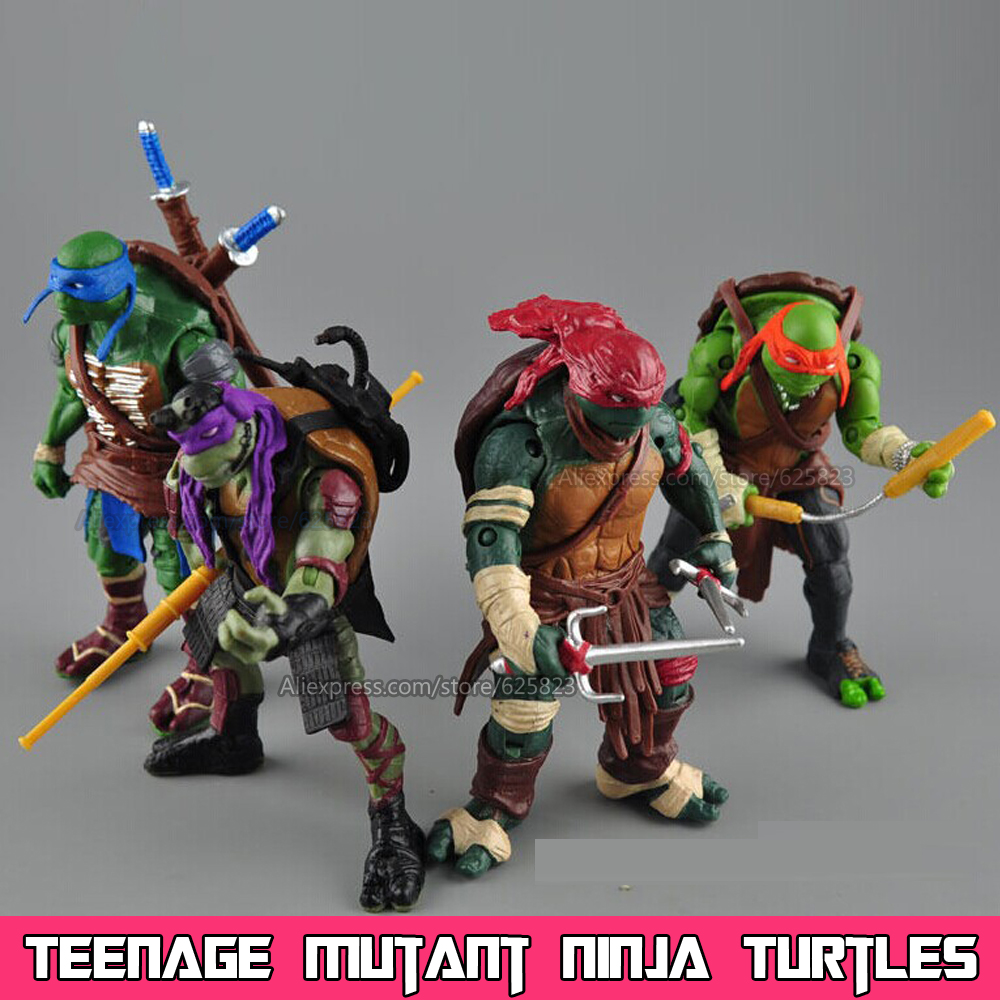 2016 New NECA Toy Teenage Mutant Ninja Turtles hasbroeINGlys Action Figure TMNT Model Toys For Boys Juguetes Gift Brinquedos(China (Mainland))