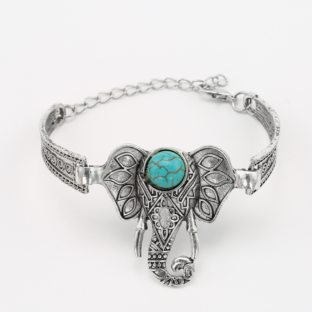 elephant bracelet for women 2016 vintage bracelets bangles bijoux ethnique bracelet femme. Black Bedroom Furniture Sets. Home Design Ideas