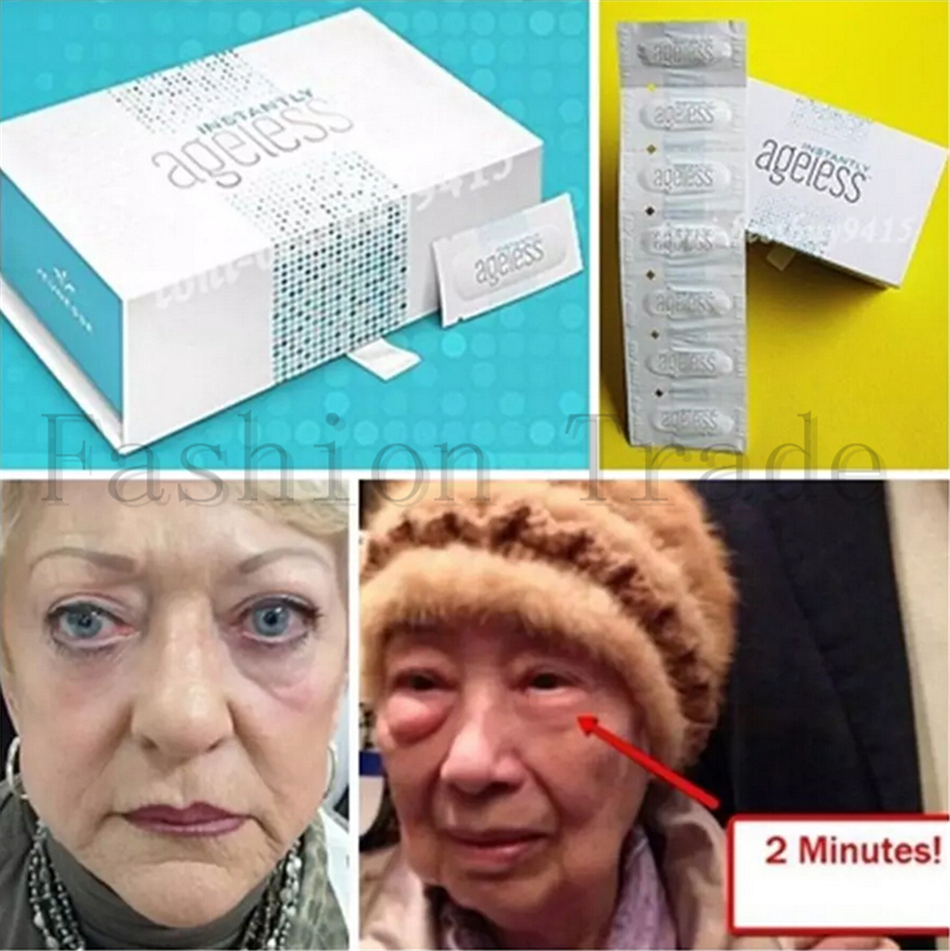 100% US origin 5 Sachets 0.3ml Instantly Ageless product Anti-Wrinkle liquid anti aging Cream Wrinkle Remover for free shipping(China (Mainland))