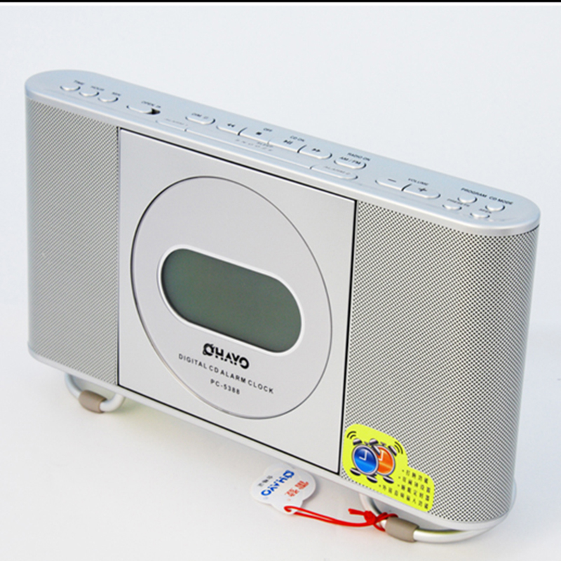 Фотография Portable CD Player popular Disc player audio CD with alarm clock