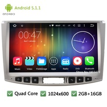 Quad Core FM Android 5.1.1 10.1″ 1024*600 Car DVD Player Radio Audio Stereo Screen For Volkswagen VW Magotan Passat CC 2012-2015