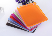 For ipad 5 Cases Soft Clear Silicone TPU Transparent Back Case Cover For Apple iPad Air