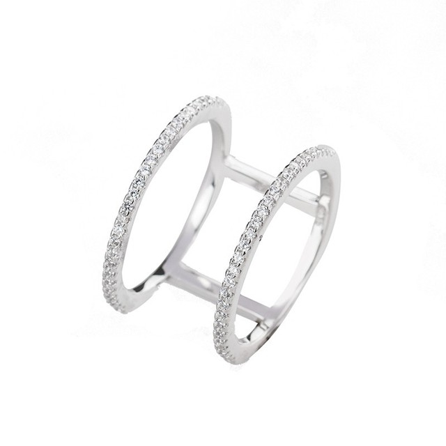 knuckle ring silber
