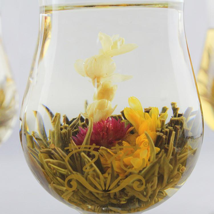 5pcs Lot Jasmine Chinese Ball Handmade Blooming Flower Herbal Tea Drinking Gift Green Tea