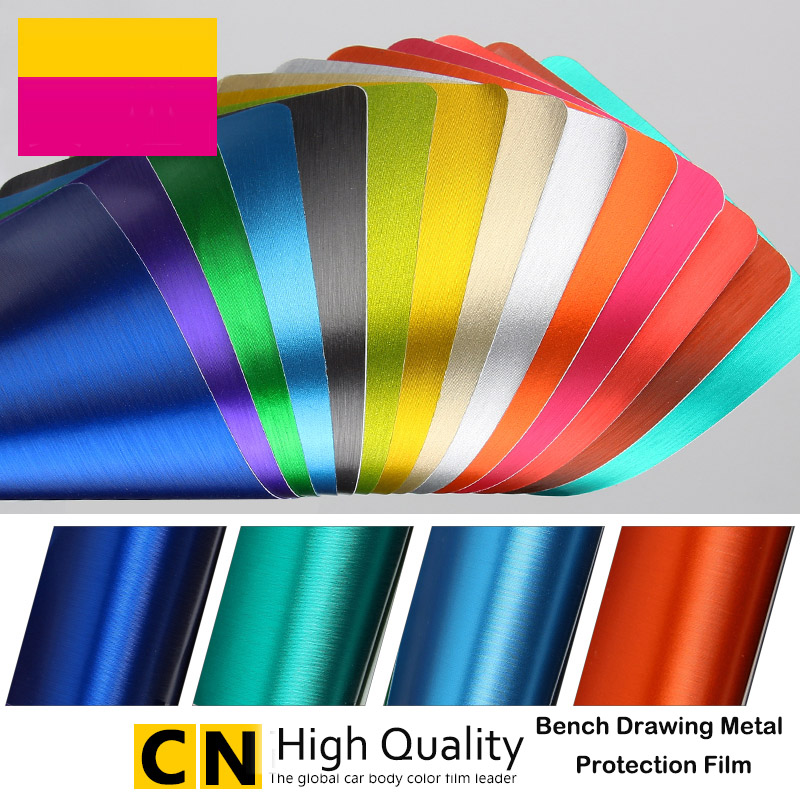 Car Styling Metal Feel Automotive Interior Discoloration Stickers For Volkswagen Mercedes All Brand Models Car Accessories(China (Mainland))