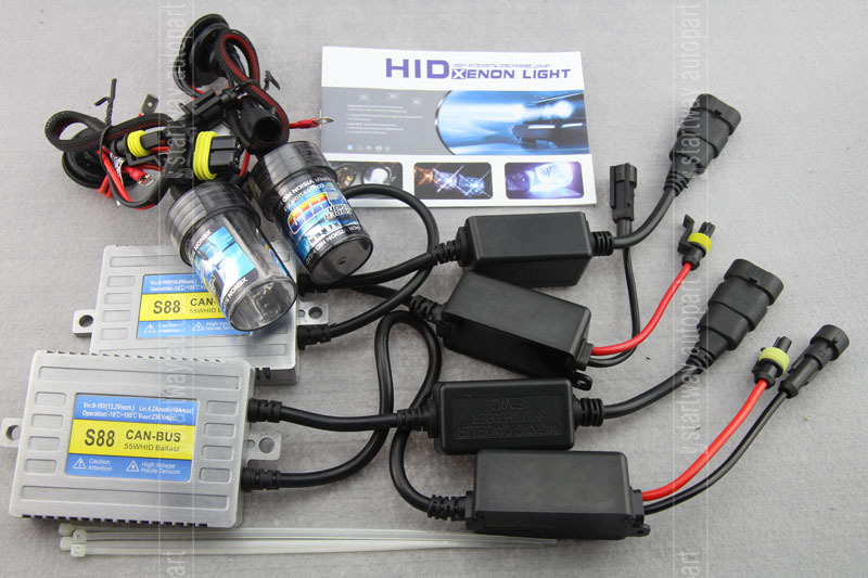 Replacement Parts Car Lights Xenon HID Kit Canbus No Error Super Quality 55w H1 H3 H7