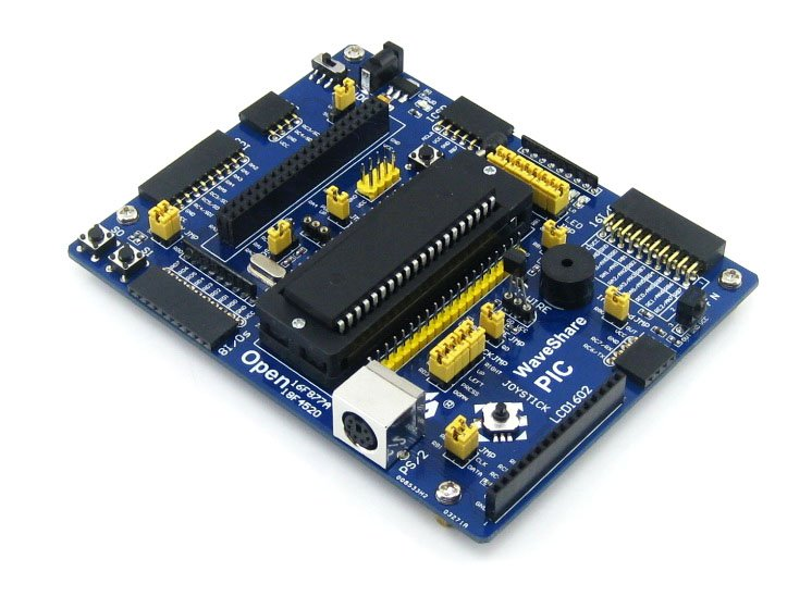 PIC Board PIC18F4520-I/P PIC18F4520 8-bit RISC PIC Microcontroller Development Board =Waveshare Open18F4520 Standard(China (Mainland))