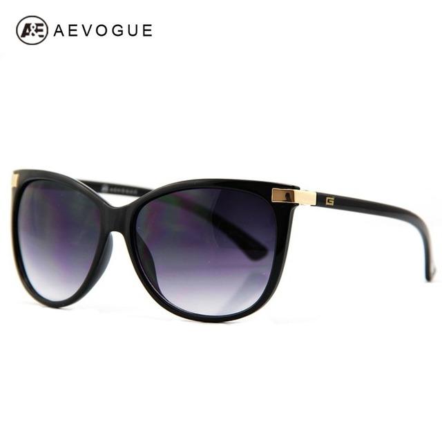 Aevogue бесплатная доставка последним кошачий глаз классический бренд солнцезащитные очки женщины горячая распродажа солнцезащитные очки старинные óculos CE UV400 AE0098
