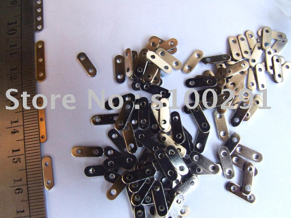 Free shipping!!! 2000pcs Jewelry finding accessories septa metal finding(China (Mainland))