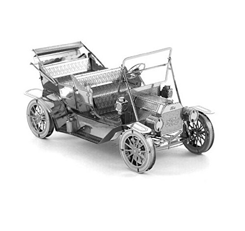 3D Metal 1908 Ford Model T Puzzle Great Educational Toy for Children(China (Mainland))