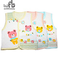 Retail new born baby cartoon clothes baby spring fall winter suits casual vest baby t shirt