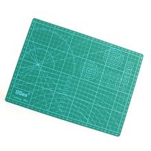 PVC Rectangle Self Healing Cutting Mat Tool 3 Layer A4 Craft Dark green 30cm x22cm, 1 Sheet