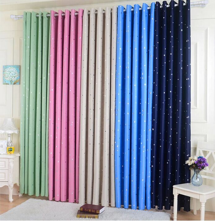 Draperies Special Clearance Finished Living Room Upscale Thick Full Blackout Curtains Bedroom