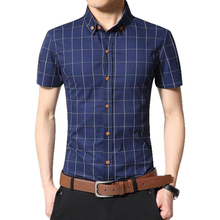 New Fashion Contrast Color Collar Men Shirt Short Sleeve Slim Fit Shirt Men High Quality Men Designer Shirts Clothes(China (Mainland))