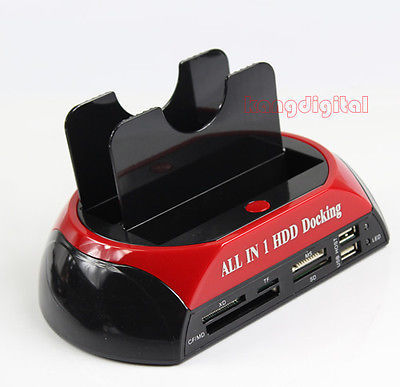 "All In 1 HDD Docking Station USB2.0 3.0 OTB OTC For All 2.5"" Or 3.5""IDE/SATA HDD(China (Mainland))"