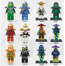 1 Decool Bricks Minifigures Cole Kai Jay Lloyd Nya Skylor Zane Building Blocks Set Figures Gifts Toys Compatible Legoe - Children's toys Center store