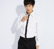 2013   New Arrival Hot Sale Stylish Color Matching long sleeve Shirts for  men