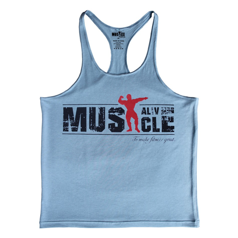 Центр мужчины бодибилдинг одежда спортивная одежда оборудование фитнес-мужчин жилет мышцы рукавов рубашки
