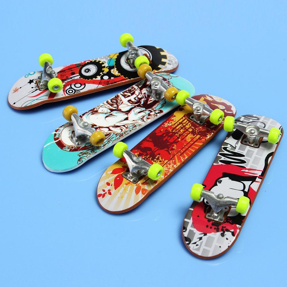 New brain development finger skateboard deck mini board finger board tech boys games adult - Tech deck finger skateboards ...