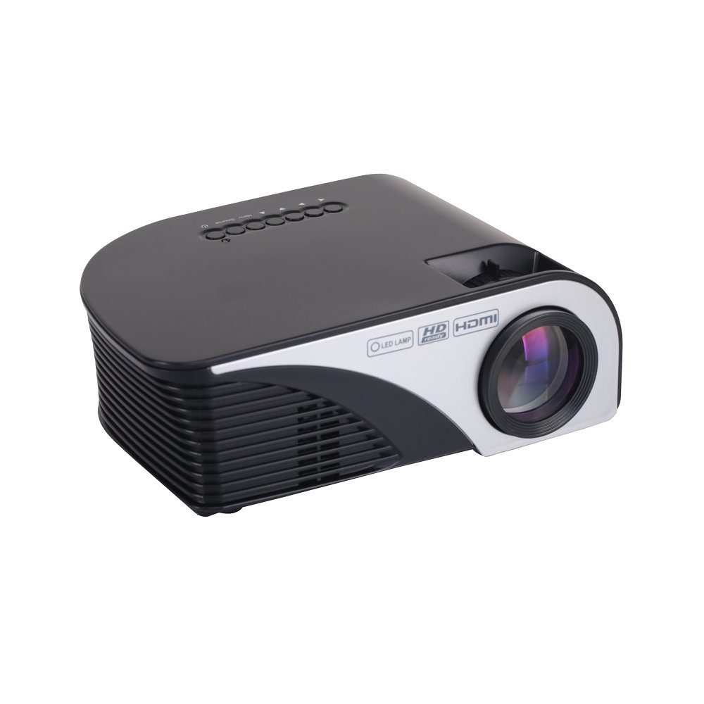Newest 1200 Lumens RD-805B Multimedia Portable Handheld LCD LED HDMI USB Home Theater Cinema Video Game Movie Projector Beamer(China (Mainland))