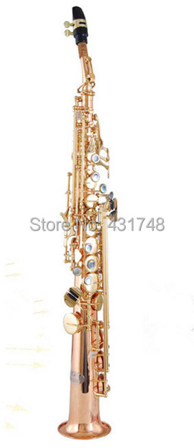 Jinbao Professional Saxophone Soprano with ABS case Wood wind Musical instruments <br><br>Aliexpress