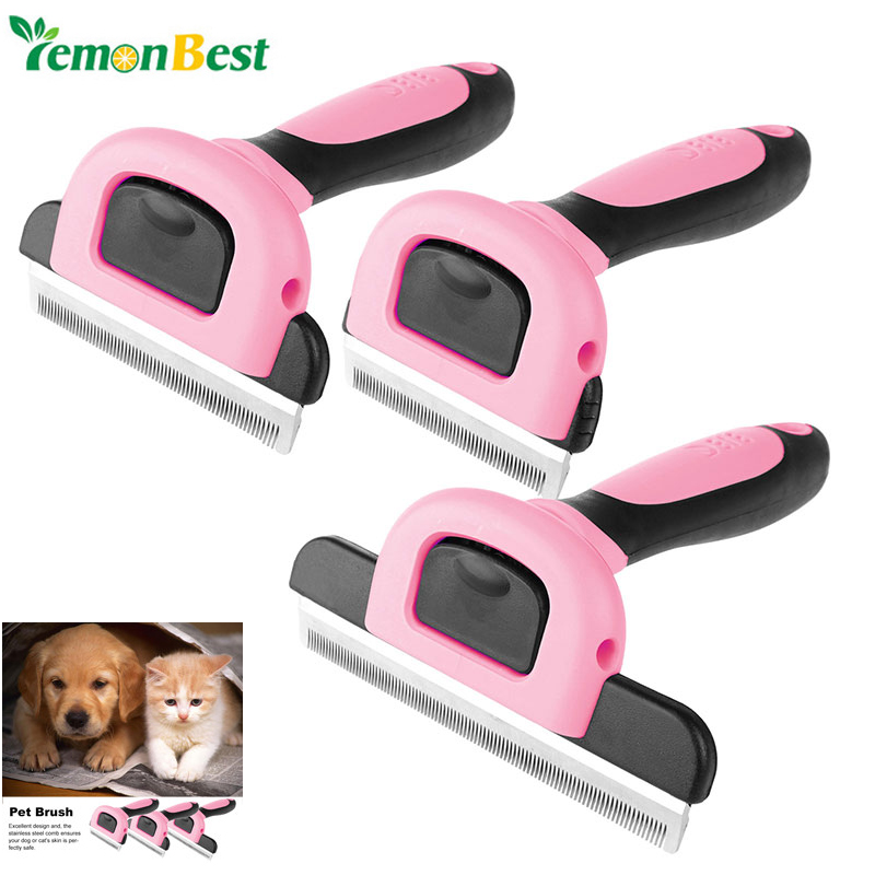 Pet Brush Grooming Comb Brush Shedding Trimming Tool for Dog Cat(China (Mainland))