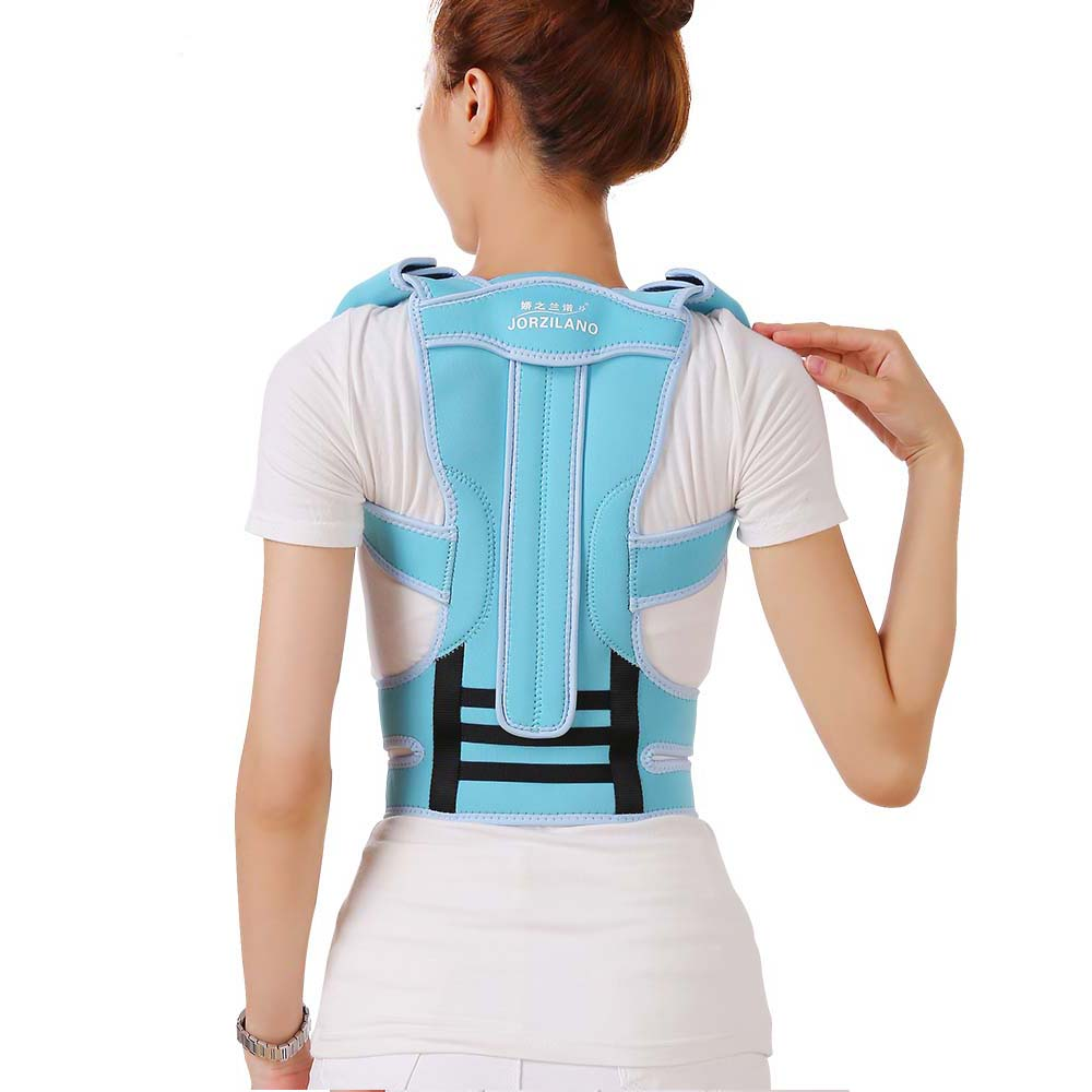 Professional Adult Aluminium Alloy Back Posture Brace Corrector Shoulder Support Band Belt Posture Correct Belt For Health Care(China (Mainland))