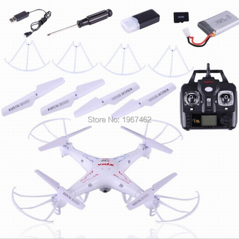 original SYMA X5C 2.4G 6-Axis 4 channels RC Drone RC Quadcopter With 2MP HD Camera free shipping
