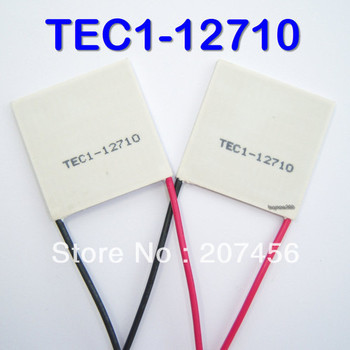 Freeshipping Wholesale Retail 2pcs/lot TEC1-12710 100W TEC Thermoelectric Cooler Peltier New