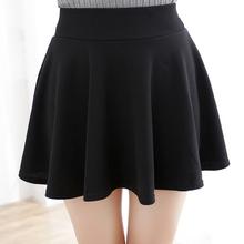 Fashion Sexy Women Skirt Black Plus Size XL Fall Winter Skirts High Waist Pleated Skirt Womens Tennis Skater Tutu Short Skirt(China (Mainland))