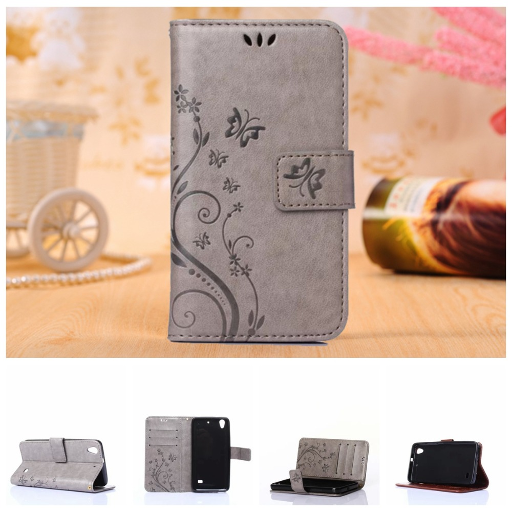 Butterfly Pattern Wallet Leather Phone Case Huawei Y6 Y550 P8 Lite G620S C8817D Cases Fundas Back Cover Flip Stand Card Holder(China (Mainland))