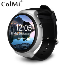 Buy ColMi VS115 Smart Watch Android 5.1 3G WIFI GPS Google Play Heart Rate Monitor Live Weather Sync Notifications Smart Phone for $117.63 in AliExpress store
