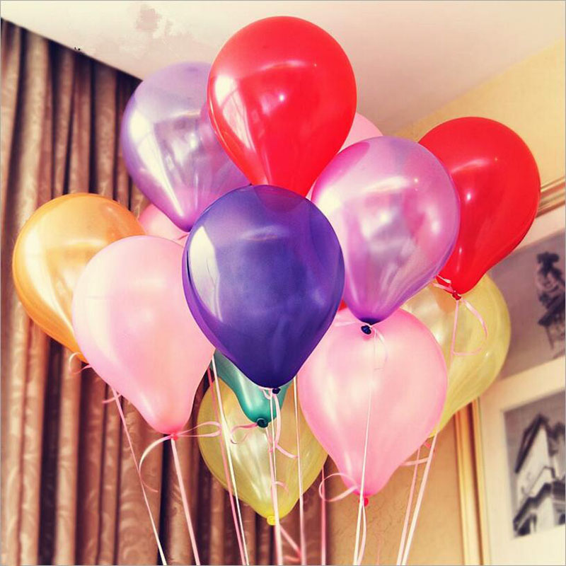 100pcs Latex Balloons Birthday Party globos Wedding Decorative Supply Marriage Room Items Kids Toy Balloon Inflatable Ballon(China (Mainland))