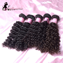 Unprocessed Deep Wave Virgin Hair 30pcs 100% Natural Human Hair Wave Bundles Brazilian Virgin Hair Can Be Dyeable And Bleachable(China (Mainland))