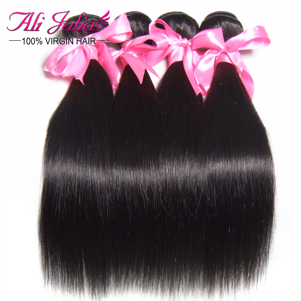 Aliexpress Hair: Brazilian Virgin Hair Straight Brazilian Hair Weave Bundles, Unprocessed Virgin Brazilian Hair Extension Online(China (Mainland))