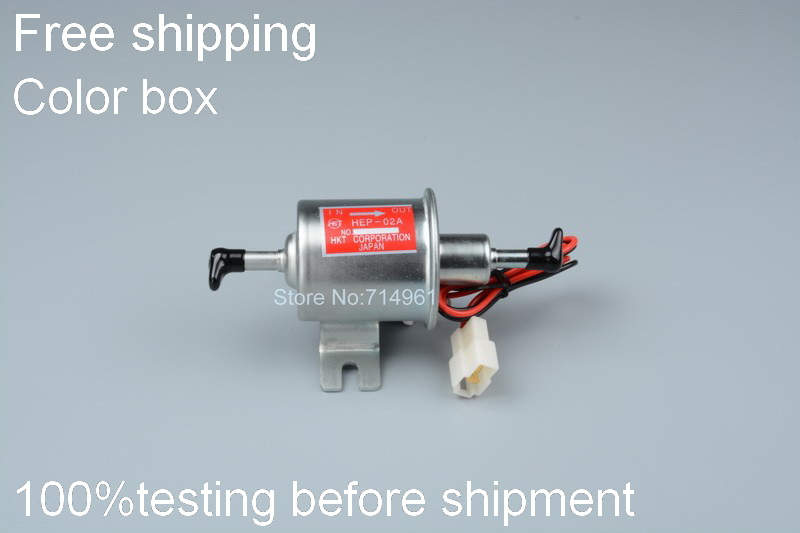 Free shipping Universal diesel petrol gasoline geniune fuel pump case for HEP-02A only for Russia market link(China (Mainland))