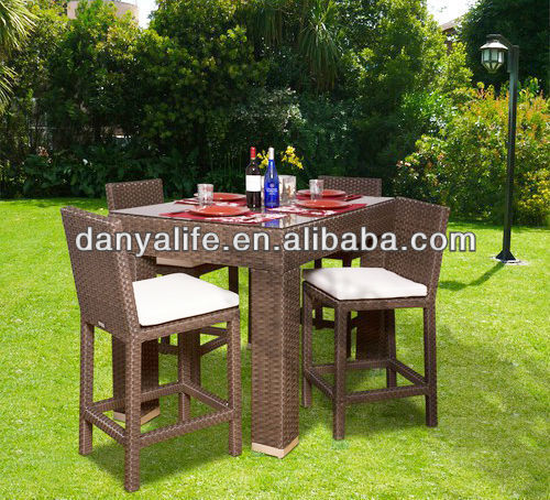 Dybar D5412 Danya Garden Bar Set Bar Stools Tables Outodor Bar Set Outdoor Furniture
